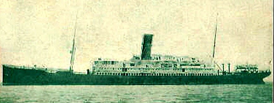Royal Mail Steamer TAHITI Simon Broad