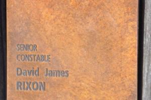 David James RIXON - touch pad at National Police Wall of Remembrance, ACT