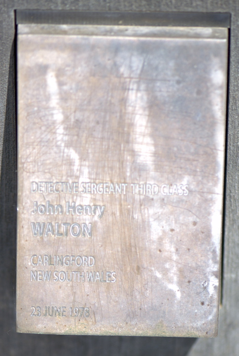 John Henry WALTON National Touch Plate, Canberra