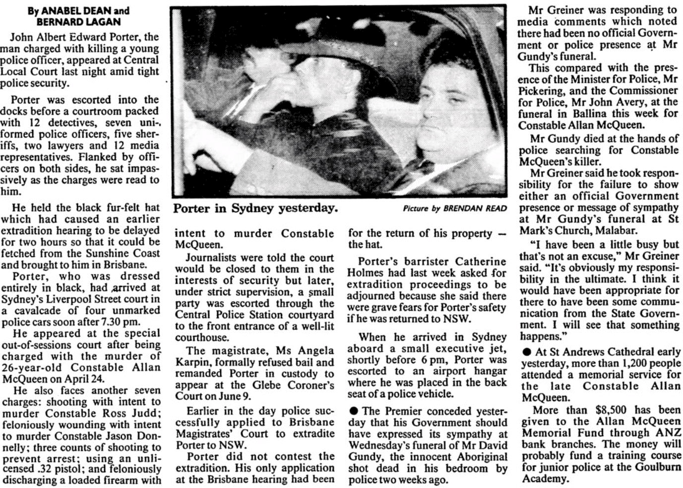 The Sydney Morning Herald 12 May 1989 p2 of 74