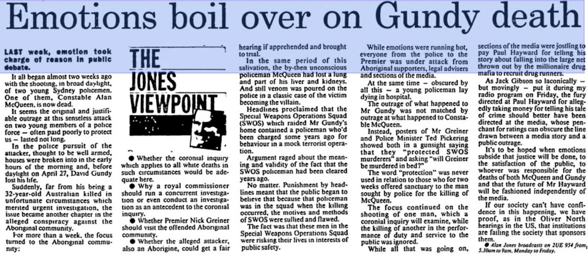 The Sydney Morning Herald 7 May 1989 p25 of 99