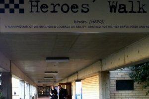 NSW Police Academy, Goulburn HERO'S WALK