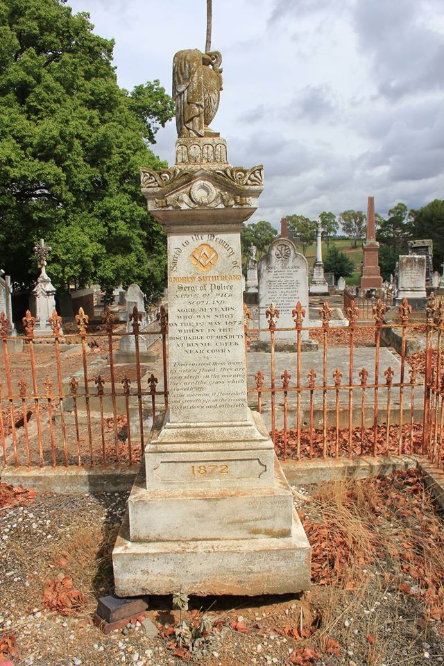 Andrew SUTHERLAND 2 - NSWPF - Murdered 1 May 1872
