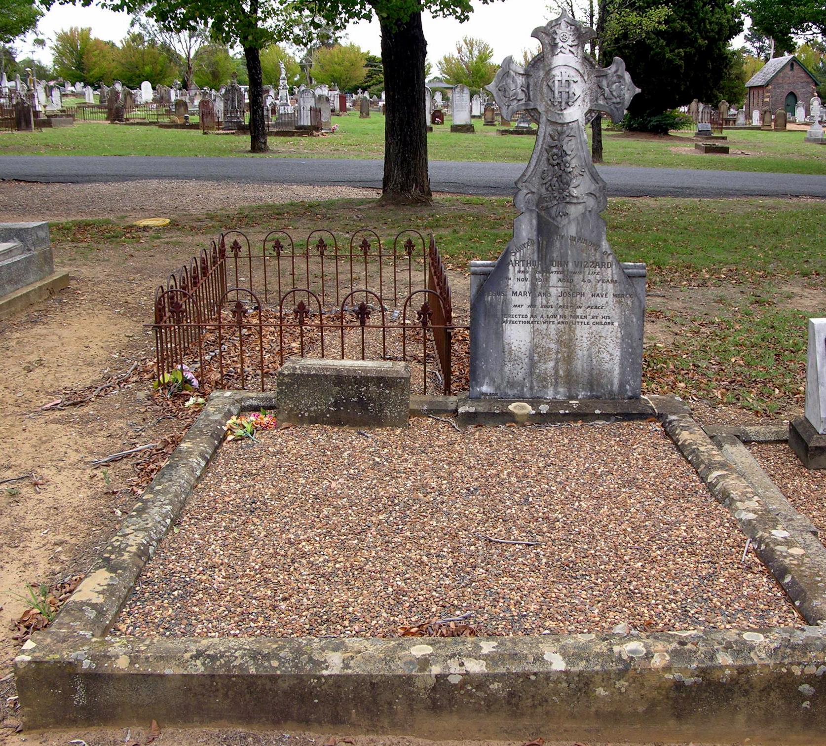 Arthur John VIZZARD Grave
