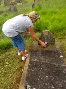 Benjamin Ratty's grave