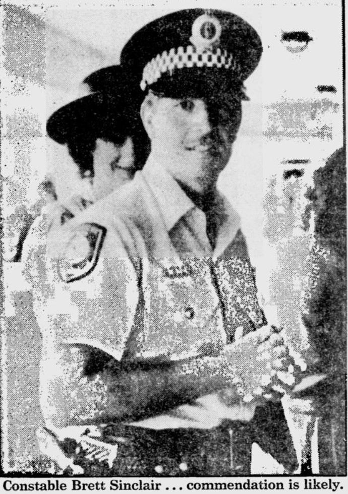 Brett Clifford SINCLAIR 1 - NSWPF - Killed 25 October 1988