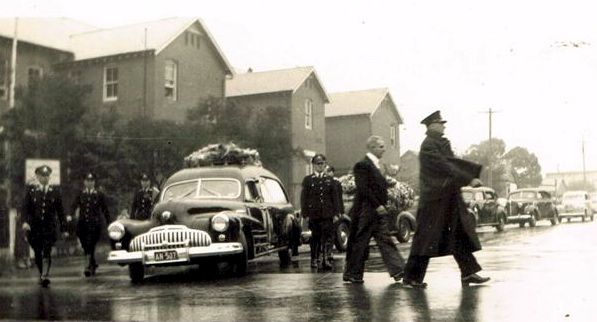 Cecil SEWELL funeral