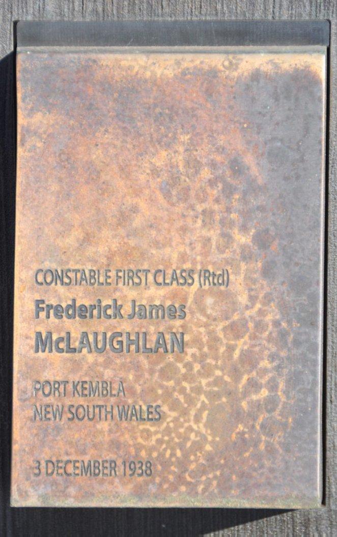 Frederick James McLAUGHLAN
