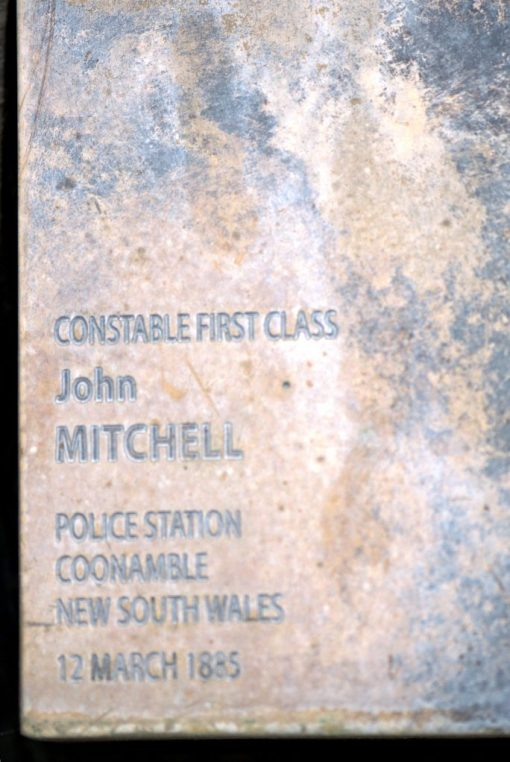 John MITCHELL - National Police Wall of Remembrance, Canberra - 2015