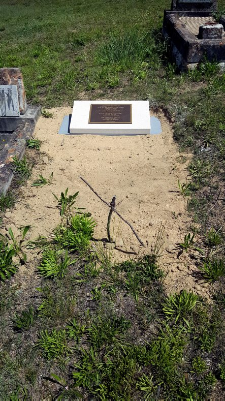 In early 2017, thanks to the efforts of Ian COLLESS, NSWPF, Edwin's grave went from an unmarked grave to having an appropriate headstone placed at the spot that Edwin, his wife and son now, forever, Rest In Peace.