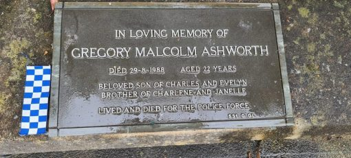 Gregory Malcolm ASHWORTH