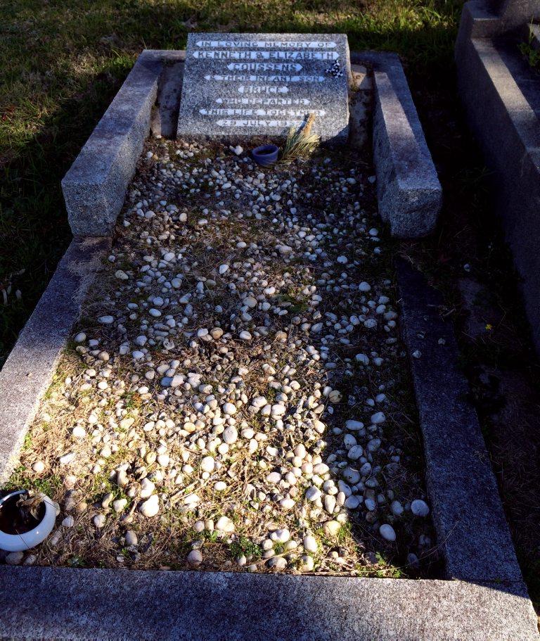 Kenneth Desmond COUSSENS grave