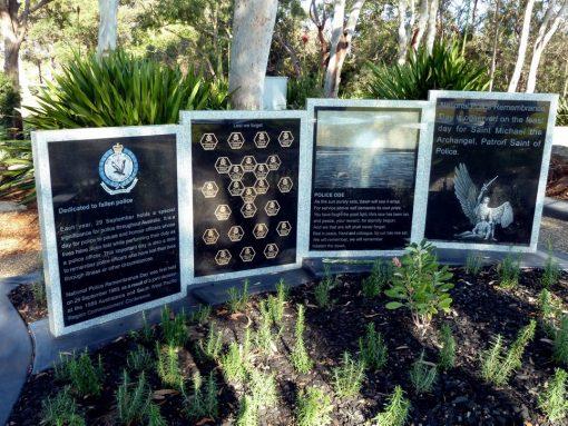 Woonona Cemetery, Sutherland, NSW - Police Memorial