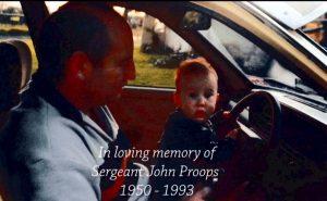 John Sidney PROOPS. John with his son, Warren, PROOPS