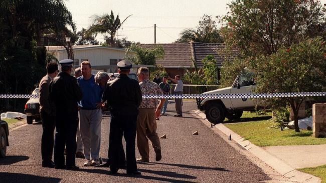 Walker St, the scene of the Crescent Head shootings, on July 9, 1995.