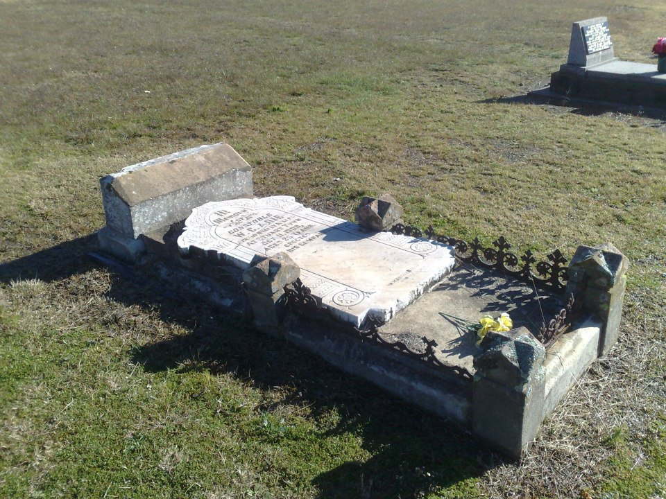 Cst William Cochrane ADIE - Horse accident - 11 Oct 1908 - Grave 06