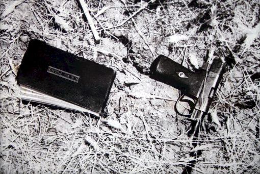 Notebook & Pistol of Cst HOWE