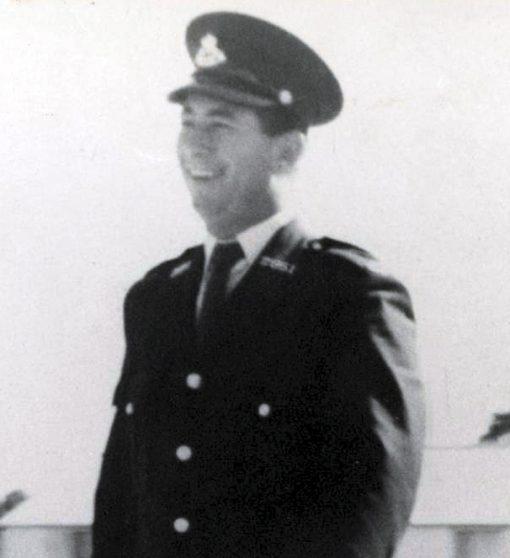 1963 Cyril Elgard HOWE, Cyril HOWE, Sgt HOWE, Constable 1/c HOWE