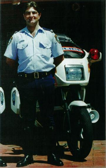 Senior Constable Dallas TIDYMAN at the Police Driver Training Unit