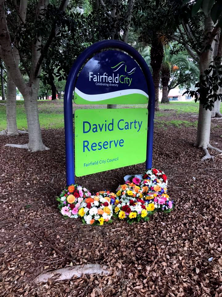 David Carty Reserve 18 April 2017