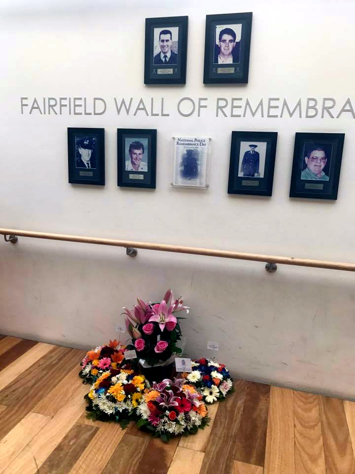 Fairfield Police Station Wall of Remembrance Smart St, Fairfield