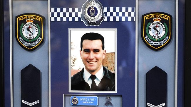 Constable David Carty is remembered as a respectable country man.