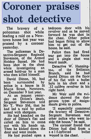 Offender, David DITTON who shot Reg.