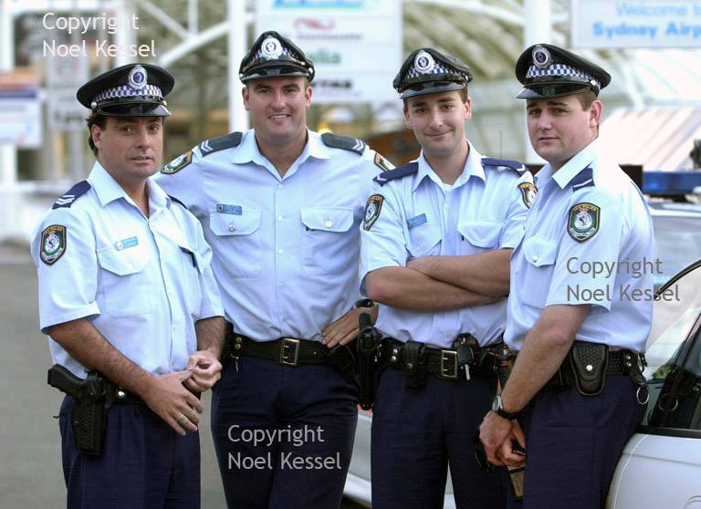 Photo courtesy of Noel Kessel via NSW Fallen Police FB page - 9 November 2016<br /> Senior Constable Glenn McEnallay on right taken about 2 weeks before his death. Photo courtesy of Noel Kessel.