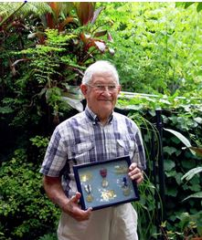 Retired police officer the late Harry Brennan is one of several local retired police officers who will be commemorated at a remembrance day service at Gymea this month. Picture: Police Association of NSW