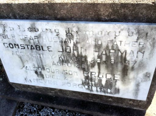 John HARMAN - Penrith Cemetery