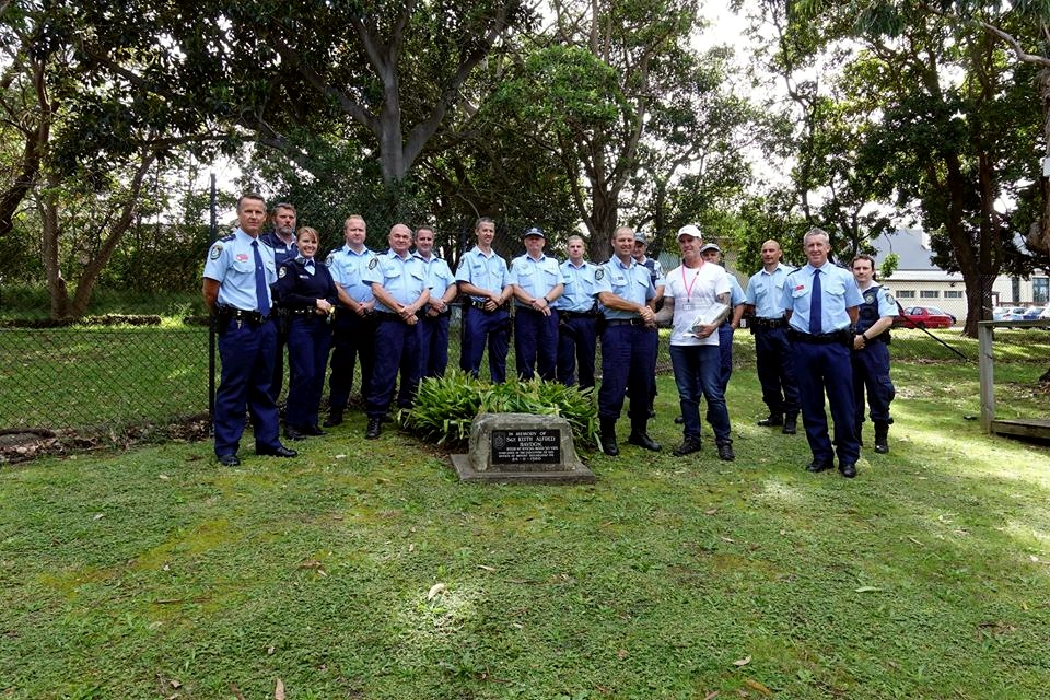 Newcastle City Police District<br /> Like This Page · April 27, 2017 ·<br /> 2017 Remembrance Bicycle Ride<br /> Newcastle City Command welcomed Peter Haydon who intends to participate in the police remembrance ride, proudly supporting NSW Police Legacy. Peter is the son of Sergeant Keith Haydon who was stationed at West Wallsend Police Station and tragically murdered at Mount Sugar Loaf, whilst on duty on 24 November 1980. Peter was only 14 years at the time of his father's passing.<br /> On behalf of Superintendent John Gralton, Senior Sergeant Craig Thompson, who is also a legatee, proudly presented Peter with a cash donation made by Newcastle City staff. Senior Sergeant Thompson is the son of Senior Constable Allan Thompson