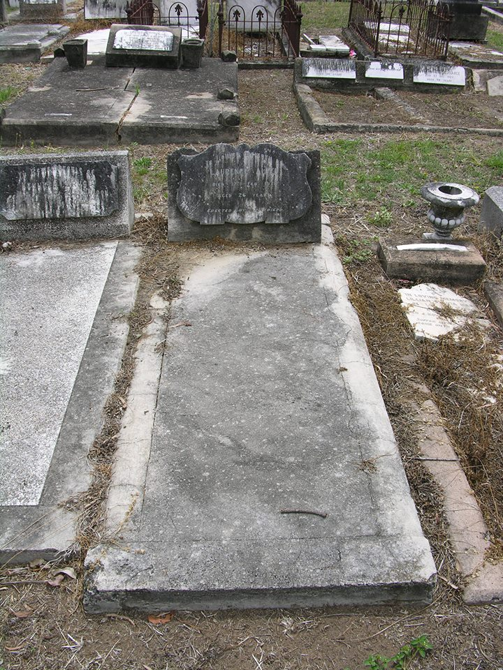 Laurence ALPEN - NSWPF - Drowned 17 Feb 1928 - Grave 4