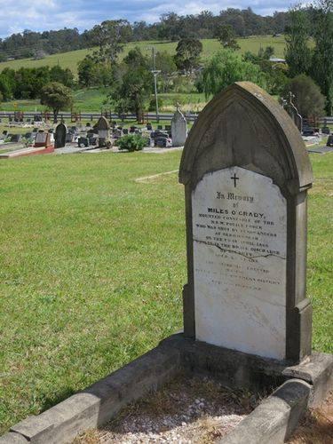 Miles O'GRADY 2 - NSWPOL - Murdered 9 Apr 1866