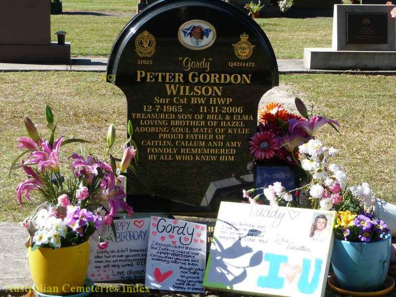 Peter Gordon WILSON - Grave