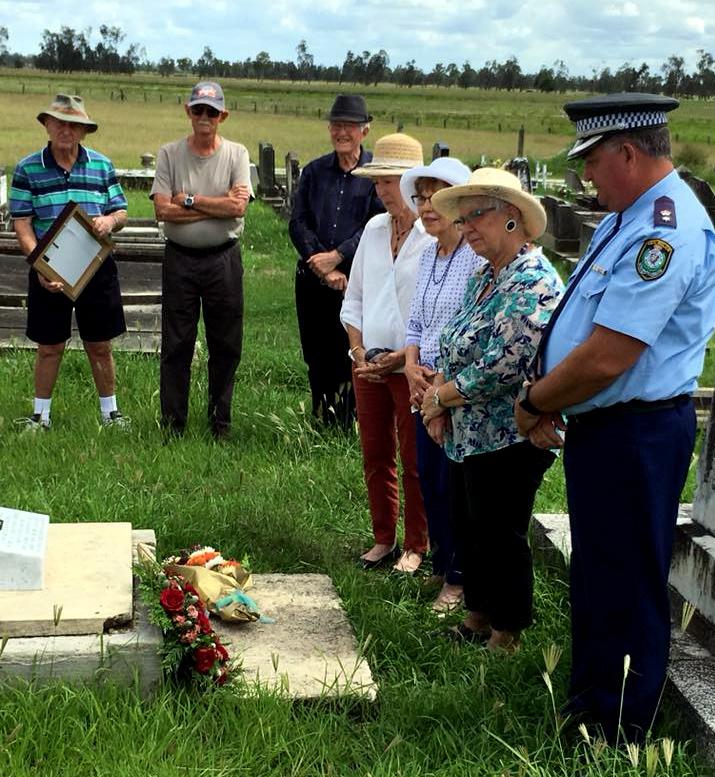 Ramsay DOBBIE's grave - December 2017