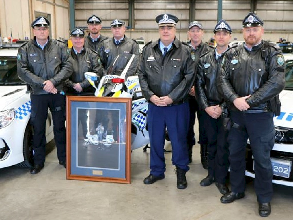 Traffic & Highway Patrol Command held a tribute to mark the 20th anniversary of Senior Sergeant Ray Smith's death this morning.