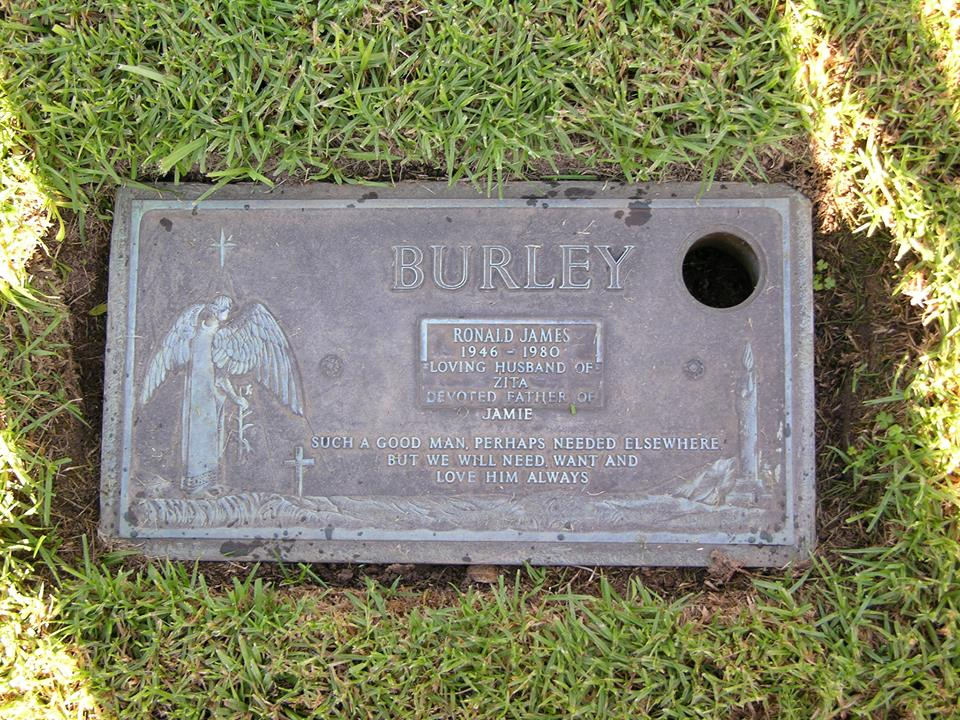 Ronald James BURLEY - NSWPF - Died 5 May 1980 - Grave