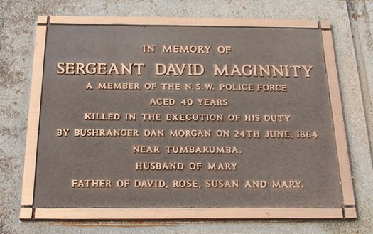 Grave of Sgt David Maginnity - courtesy of Ken Medway ( Beyond Courage FB Page 120114