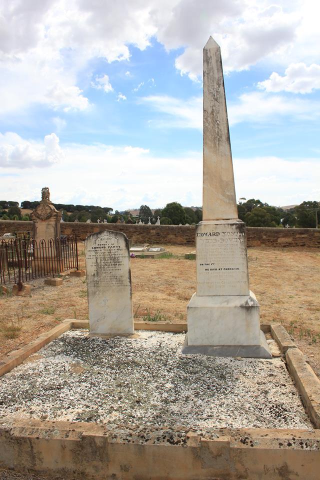 Sgt Edmund Parry & Senior Constable Edward Webb-Bowen graves