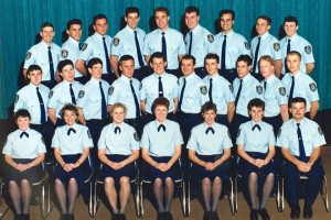 Sharon Louise WILSON - centre, front row. Class 215
