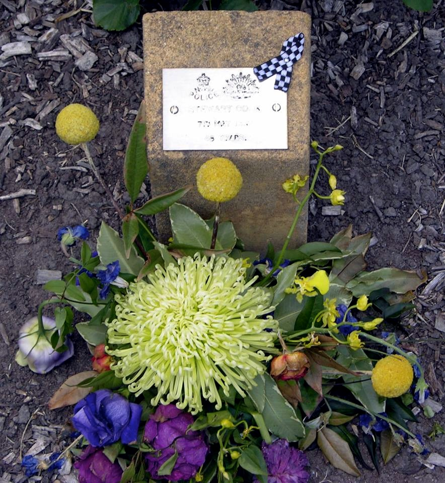 NSW POLICE. Stewart COOK 7th May 1987 48 years.
