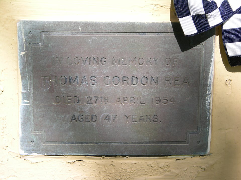 Thomas Gordon REA - NSWPF - Died 27 Apr 1954