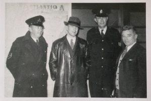 Senior Constable Neville Higgs, Detective Constable Terry Dudeney, Sergeant Edwin Pratt & ?.