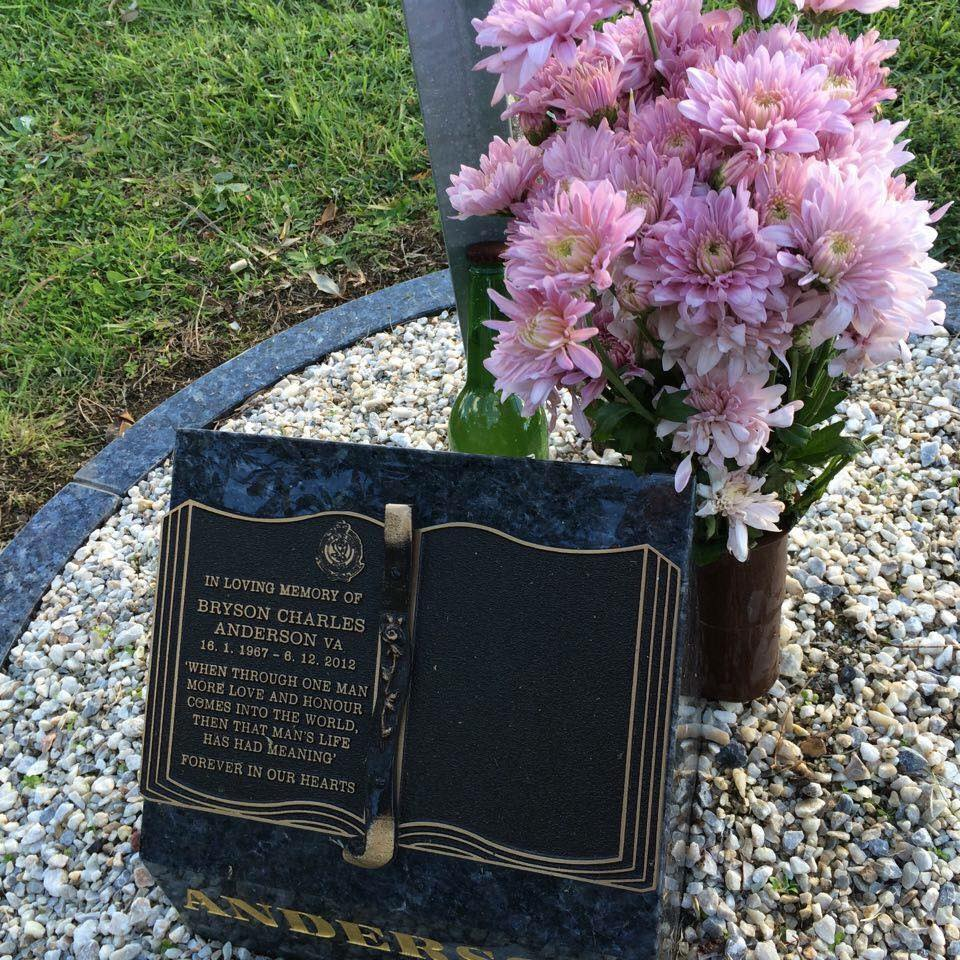 Grave of Bryson Anderson