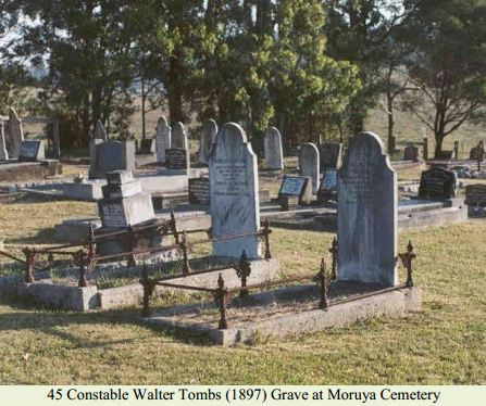 Constable Walter Tombs (1897) Grave at Moruya Cemetery