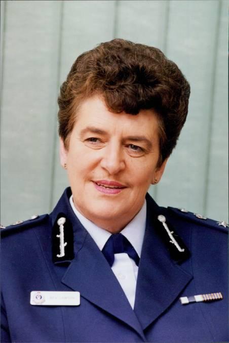 Deputy Commissioner Bev Lawson in 1998.