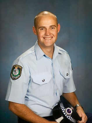 Constable Bill Crews - shot - 090910