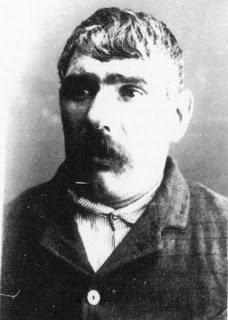 Figure 9. Daniel Conway, photographed in 1897 at Darlinghurst Gaol for the manslaughter of Constable Henry Murrow of No 4 Station. (NSW State Records NRS 2138, photo 7218)
