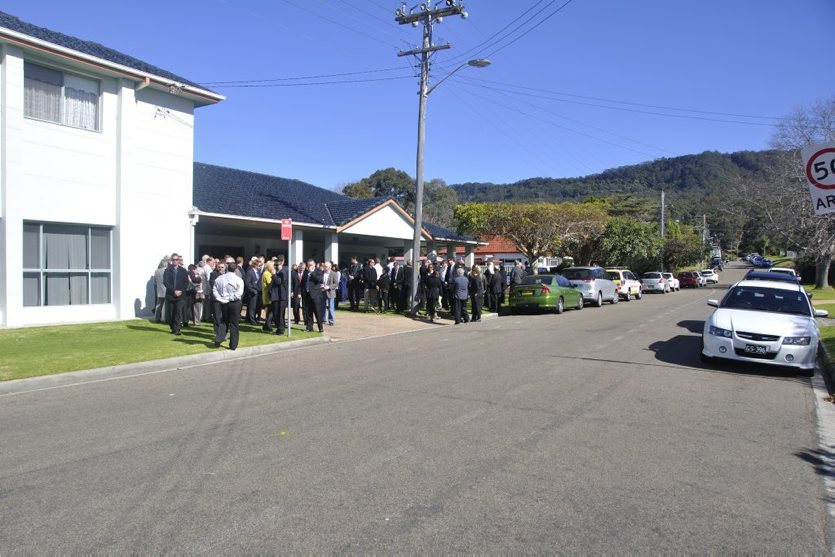 15 August 2013 Funeral for Retired Sgt Geoffrey Enoch RICHENS at Bulli.