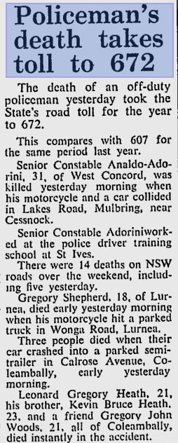 Sydney Morning Herald - 26 June 1978  page 2 of 14 http://news.google.com/newspapers?nid=1301&dat=19780626&id=fJ1WAAAAIBAJ&sjid=iOYDAAAAIBAJ&pg=2435,8247358